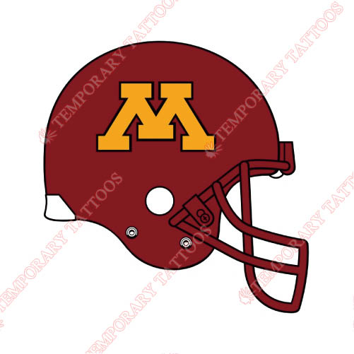 Minnesota Golden Gophers Customize Temporary Tattoos Stickers NO.5109