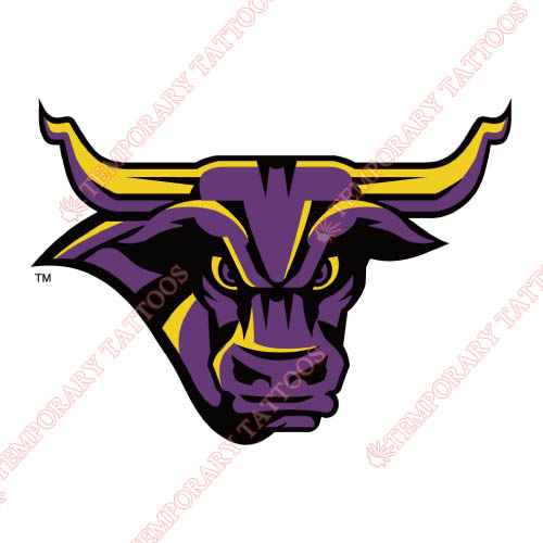 Minnesota State Mavericks Customize Temporary Tattoos Stickers NO.5110