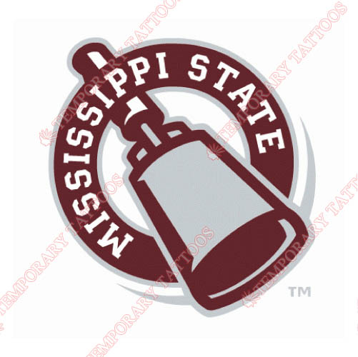 Mississippi State Bulldogs Customize Temporary Tattoos Stickers NO.5126