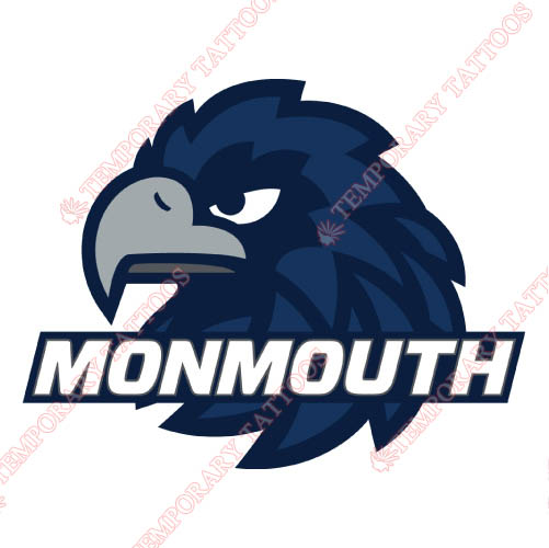 Monmouth Hawks Customize Temporary Tattoos Stickers NO.5157