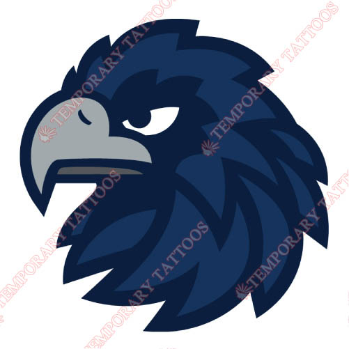 Monmouth Hawks Customize Temporary Tattoos Stickers NO.5167