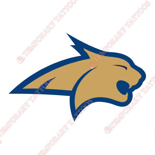 Montana State Bobcats Customize Temporary Tattoos Stickers NO.5178
