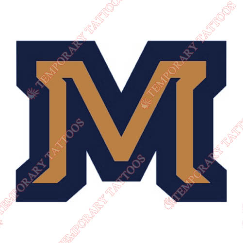 Montana State Bobcats Customize Temporary Tattoos Stickers NO.5179
