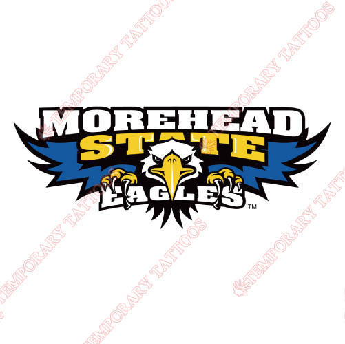 Morehead State Eagles Customize Temporary Tattoos Stickers NO.5189