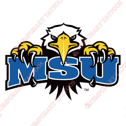 Morehead State Eagles Customize Temporary Tattoos Stickers NO.5190