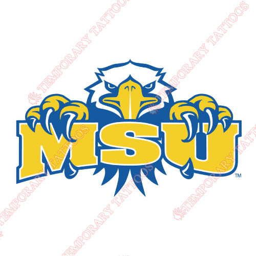Morehead State Eagles Customize Temporary Tattoos Stickers NO.5192