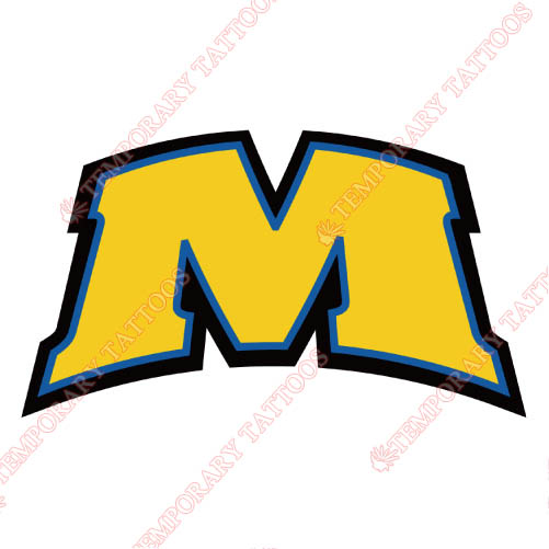 Morehead State Eagles Customize Temporary Tattoos Stickers NO.5194