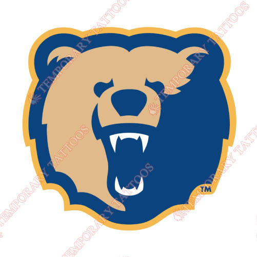 Morgan State Bears Customize Temporary Tattoos Stickers NO.5210