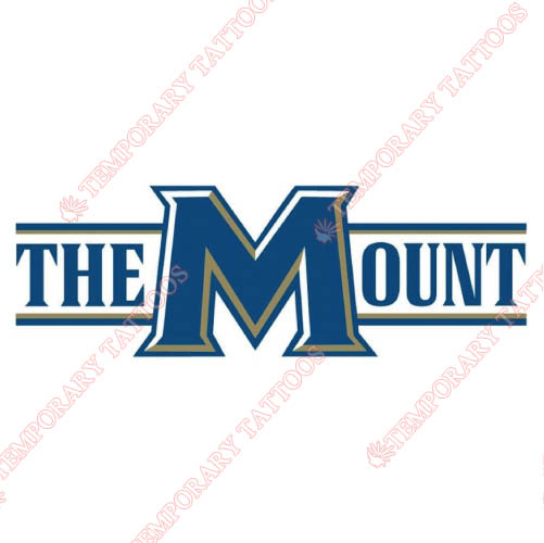 Mount St Marys Mountaineers Customize Temporary Tattoos Stickers NO.5213