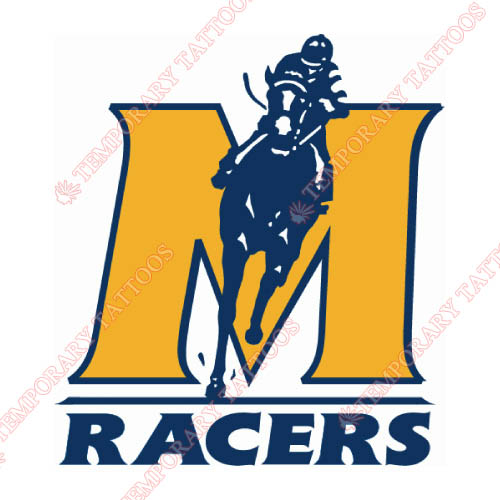 Murray State Racers Customize Temporary Tattoos Stickers NO.5215
