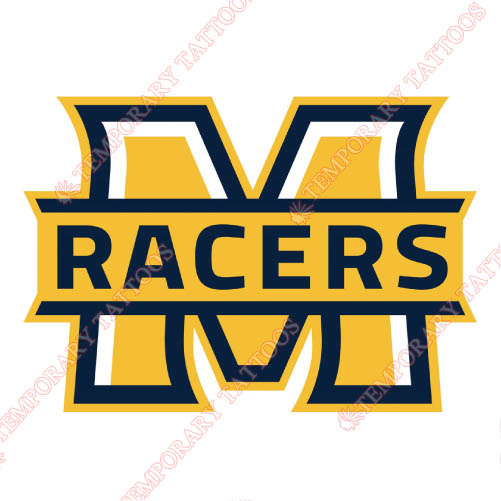 Murray State Racers Customize Temporary Tattoos Stickers NO.5222