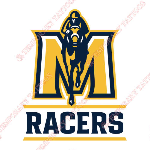 Murray State Racers Customize Temporary Tattoos Stickers NO.5223