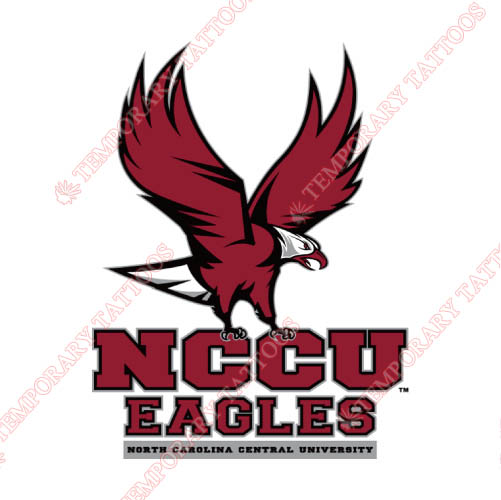 NCCU Eagles Customize Temporary Tattoos Stickers NO.5373