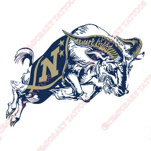 Navy Midshipmen Customize Temporary Tattoos Stickers NO.5346