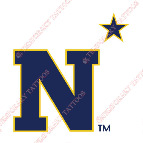 Navy Midshipmen Customize Temporary Tattoos Stickers NO.5354