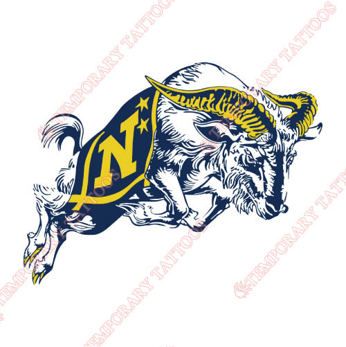 Navy Midshipmen Customize Temporary Tattoos Stickers NO.5355
