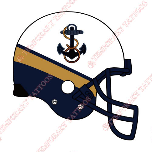 Navy Midshipmen Customize Temporary Tattoos Stickers NO.5356