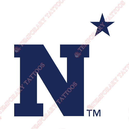 Navy Midshipmen Customize Temporary Tattoos Stickers NO.5357