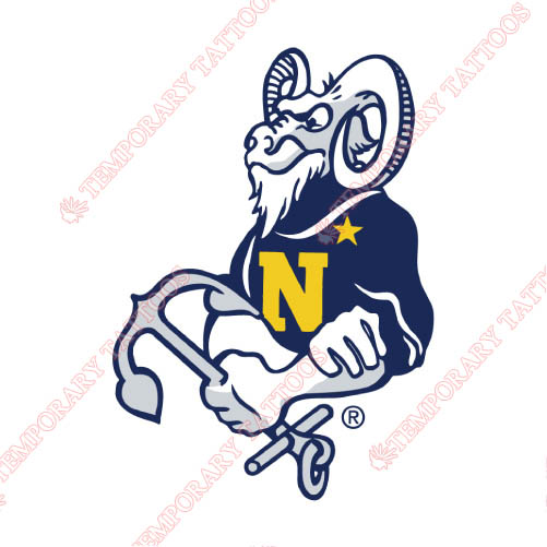Navy Midshipmen Customize Temporary Tattoos Stickers NO.5358