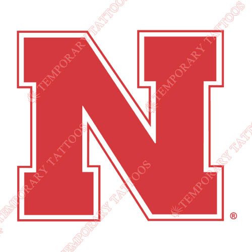 Nebraska Cornhuskers Customize Temporary Tattoos Stickers NO.5375