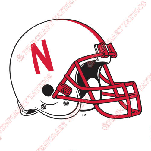 Nebraska Cornhuskers Customize Temporary Tattoos Stickers NO.5382