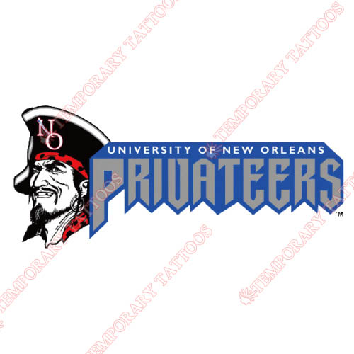 New Orleans Privateers Customize Temporary Tattoos Stickers NO.5440