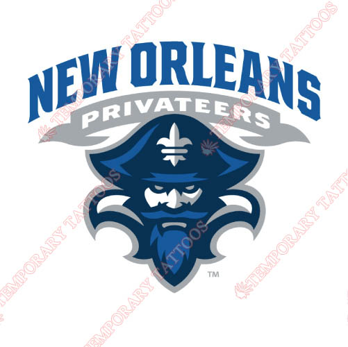 New Orleans Privateers Customize Temporary Tattoos Stickers NO.5444