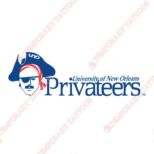 New Orleans Privateers Customize Temporary Tattoos Stickers NO.5448