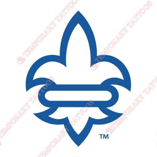New Orleans Privateers Customize Temporary Tattoos Stickers NO.5452