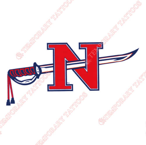 Nicholls State Colonels Customize Temporary Tattoos Stickers NO.5459