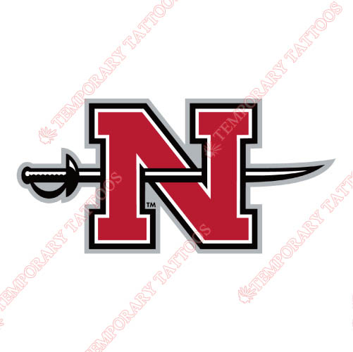 Nicholls State Colonels Customize Temporary Tattoos Stickers NO.5460