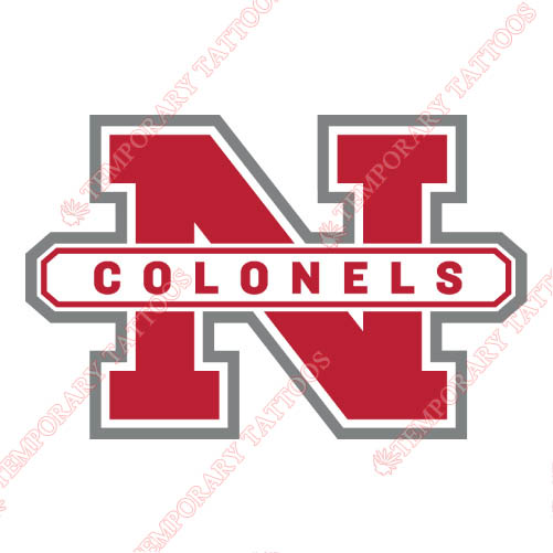 Nicholls State Colonels Customize Temporary Tattoos Stickers NO.5469