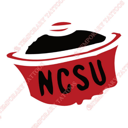 North carolina state wolfpack customize temporary tattoos stickers no 5489