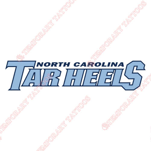 North Carolina Tar Heels Customize Temporary Tattoos Stickers NO.5517