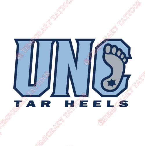 North Carolina Tar Heels Customize Temporary Tattoos Stickers NO.5520