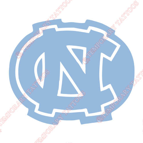 North Carolina Tar Heels Customize Temporary Tattoos Stickers NO.5526
