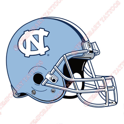 North Carolina Tar Heels Customize Temporary Tattoos Stickers NO.5533