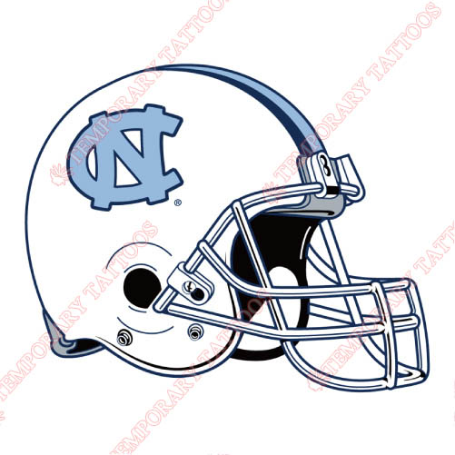 North Carolina Tar Heels Customize Temporary Tattoos Stickers NO.5534