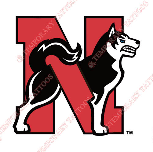 Northeastern Huskies Customize Temporary Tattoos Stickers NO.5631