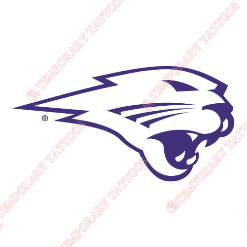 Northern Iowa Panthers Customize Temporary Tattoos Stickers NO.5670