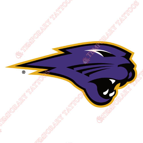 Northern Iowa Panthers Customize Temporary Tattoos Stickers NO.5673