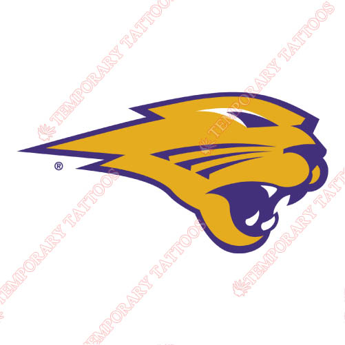 Northern Iowa Panthers Customize Temporary Tattoos Stickers NO.5676