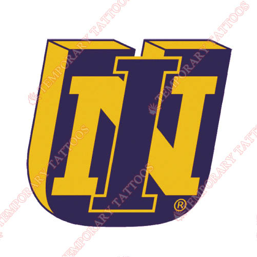 Northern Iowa Panthers Customize Temporary Tattoos Stickers NO.5680