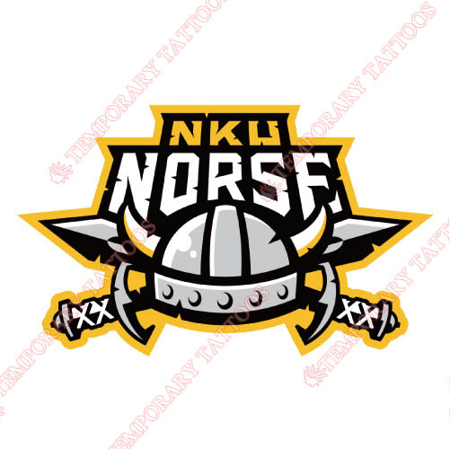 Northern Kentucky Norse Customize Temporary Tattoos Stickers NO.5683