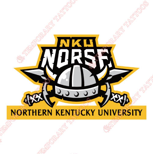 Northern Kentucky Norse Customize Temporary Tattoos Stickers NO.5686