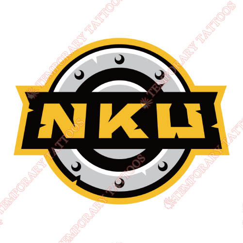 Northern Kentucky Norse Customize Temporary Tattoos Stickers NO.5687