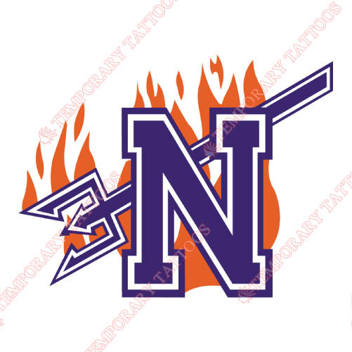 Northwestern State Demons Customize Temporary Tattoos Stickers NO.5697