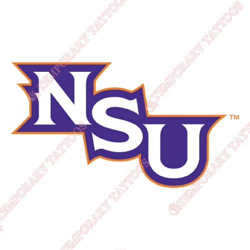 Northwestern State Demons Customize Temporary Tattoos Stickers NO.5698