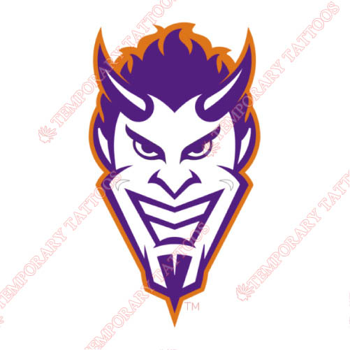 Northwestern State Demons Customize Temporary Tattoos Stickers NO.5699