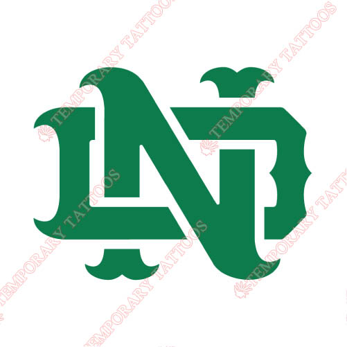 Notre Dame Fighting Irish Customize Temporary Tattoos Stickers NO.5718